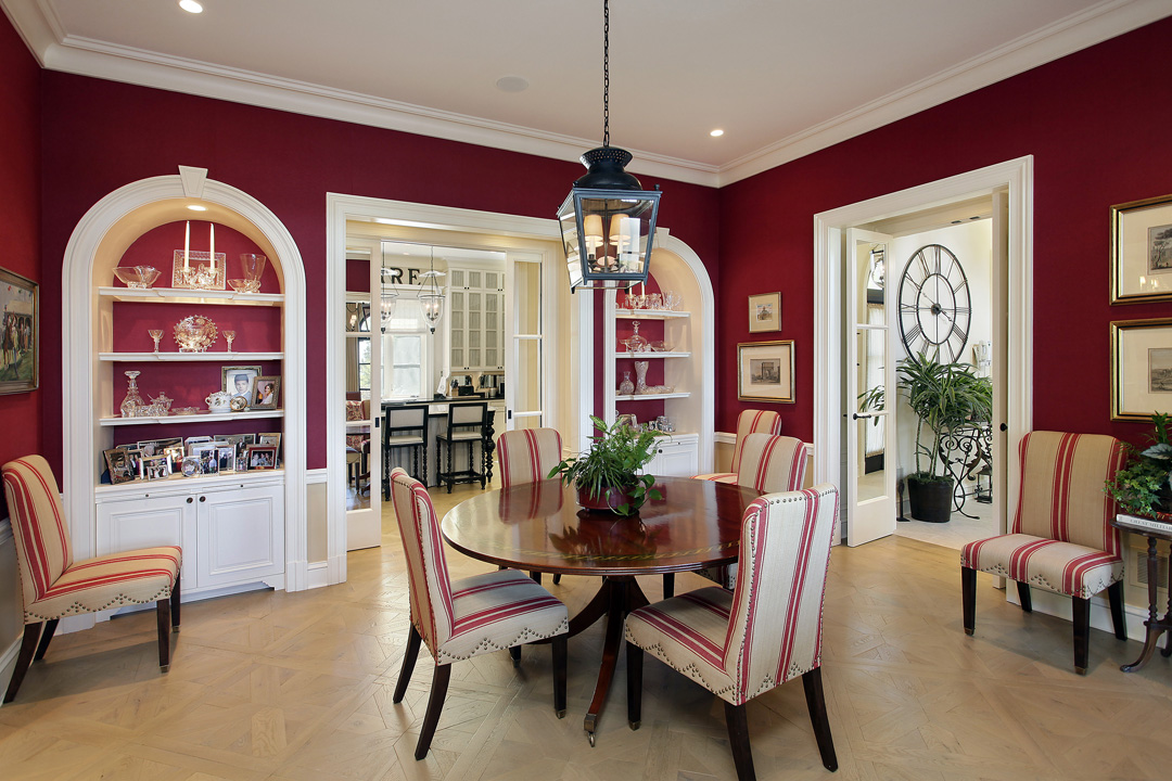 Winnetka Residence - Breakfast Room
