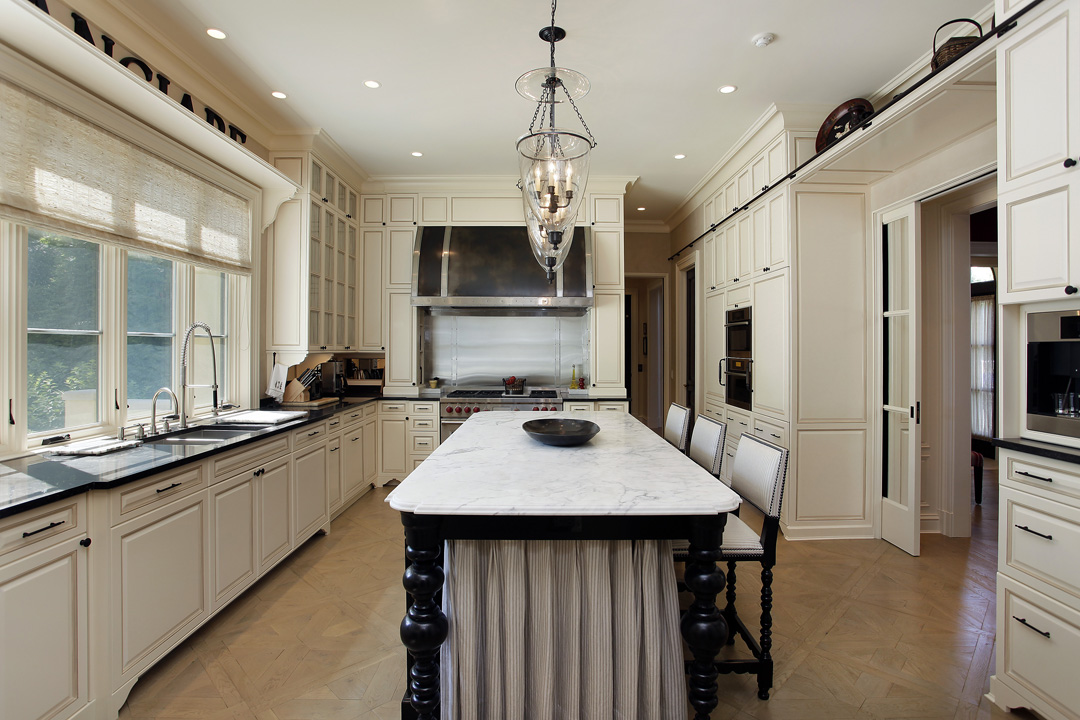 Winnetka Residence - Kitchen Island