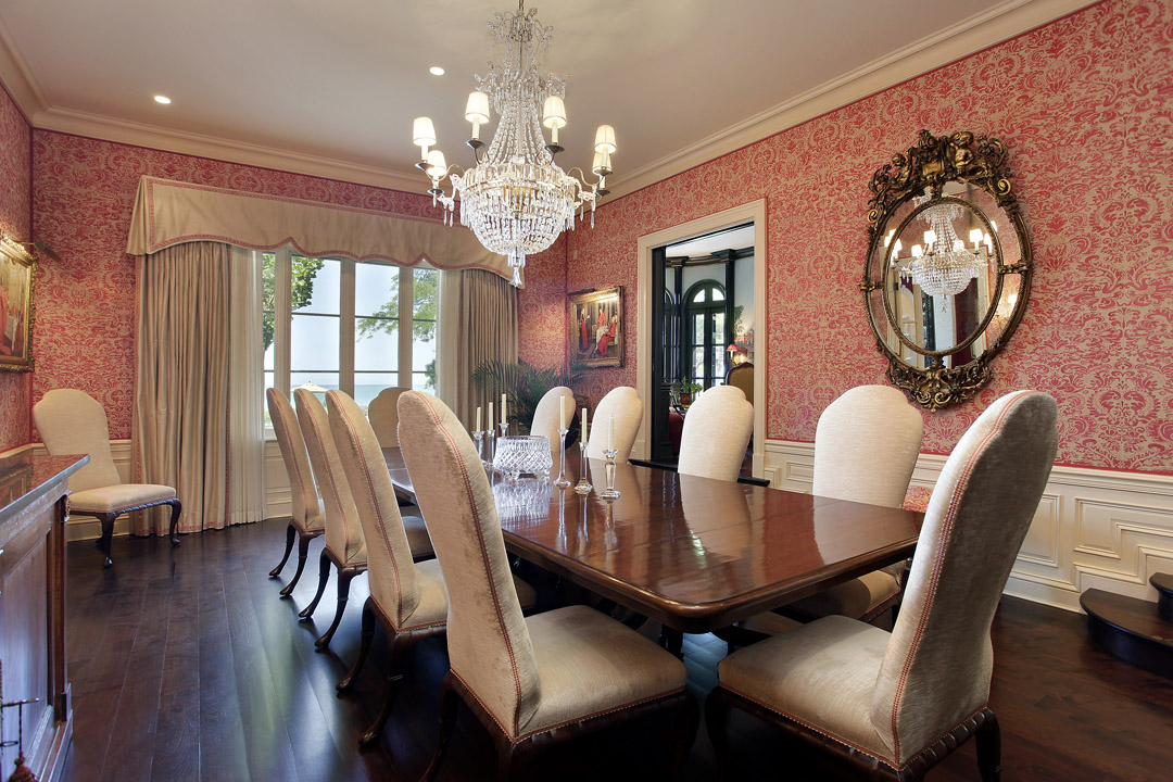 Winnetka Residence - Formal Dining Room