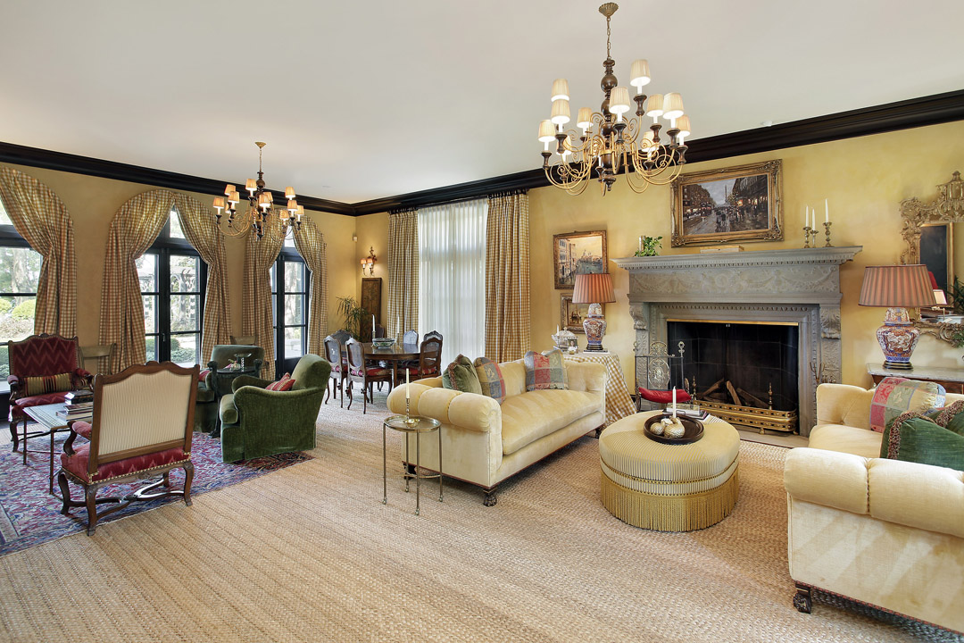 Winnetka Residence - Formal Living Room