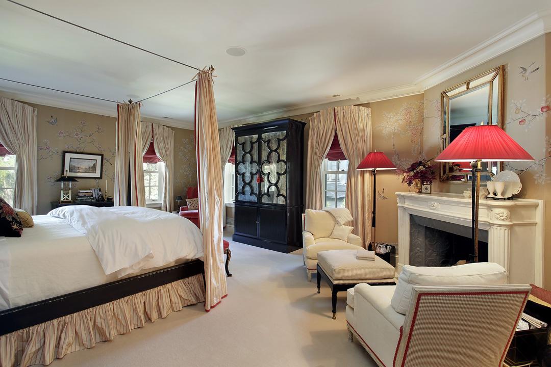 Winnetka Residence - Master Bedroom