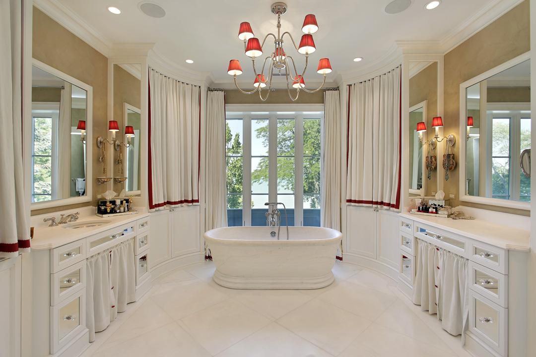 Winnetka Residence - Master Bath