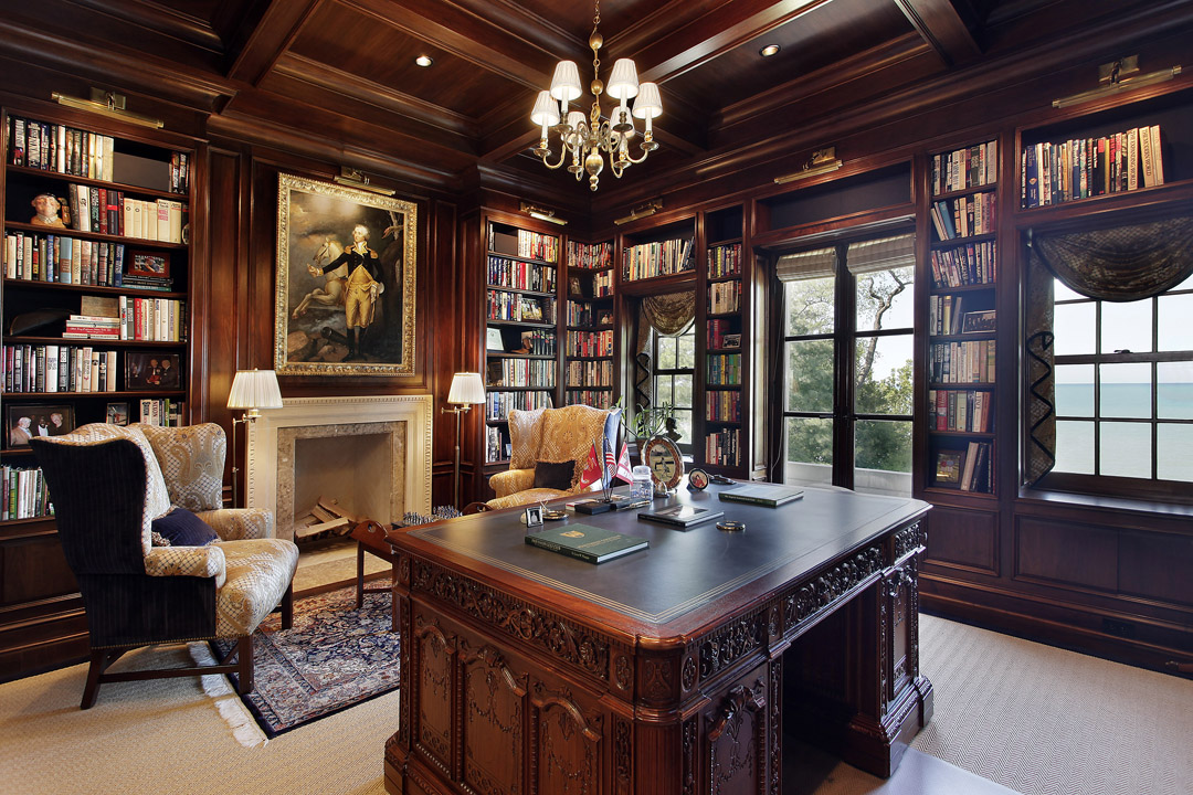 Winnetka Residence - Home Office