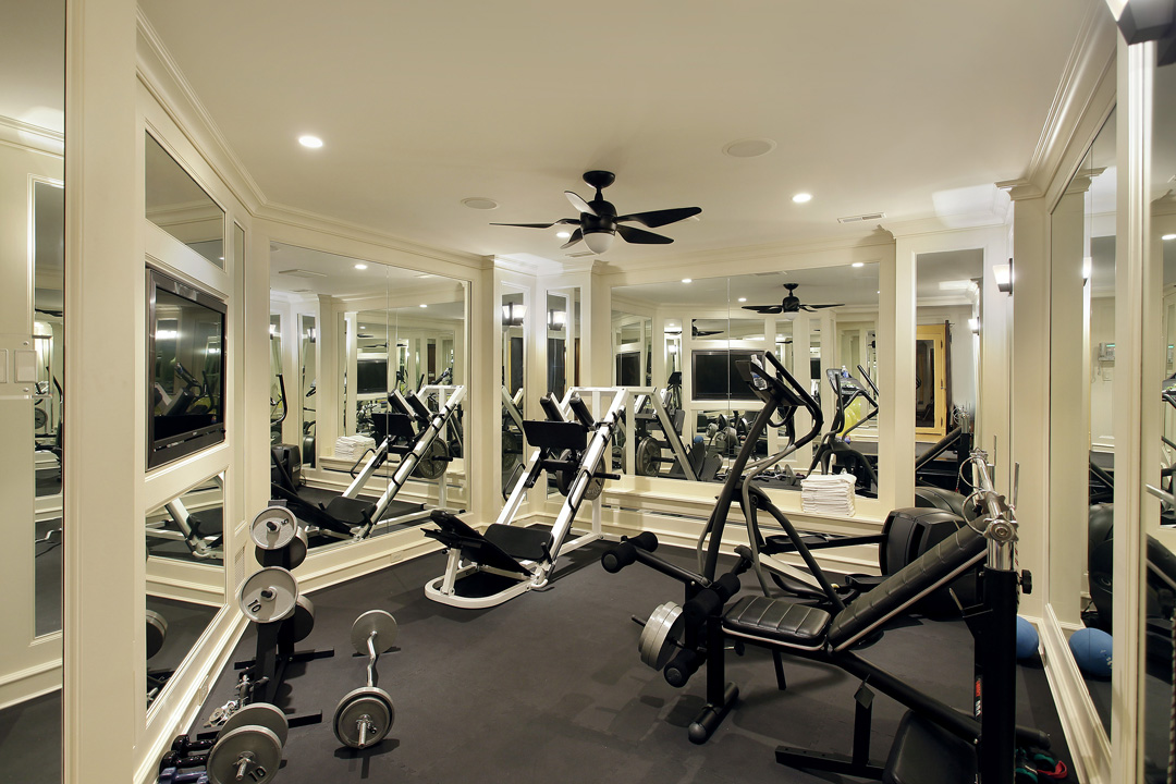 Winnetka Residence - Exercise Room