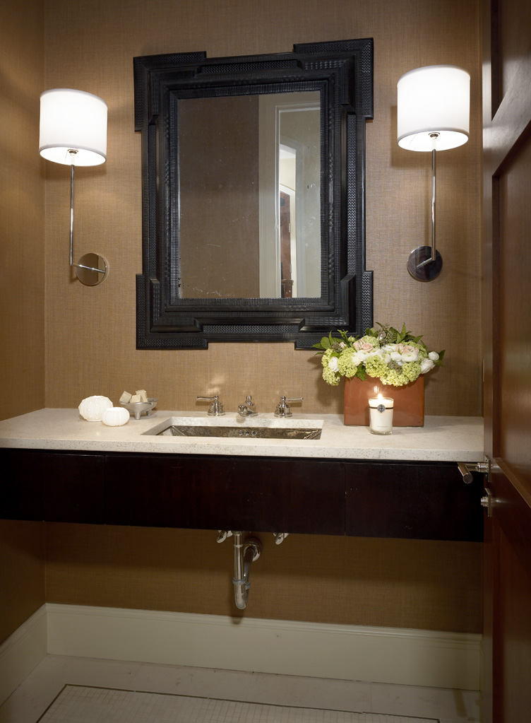 Barry Residence – Powder room