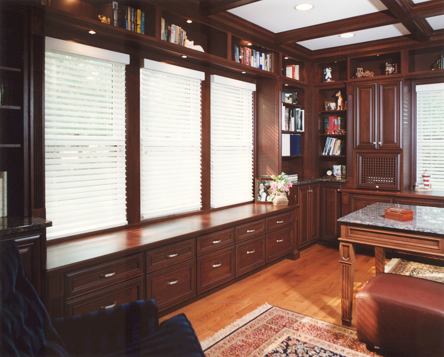 191 Park - Library with desk