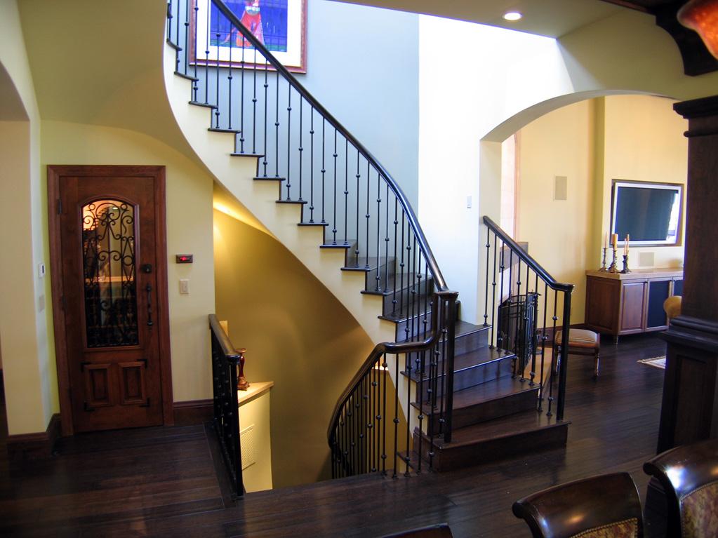 San Francisco Residence - Skylit Stair Hall