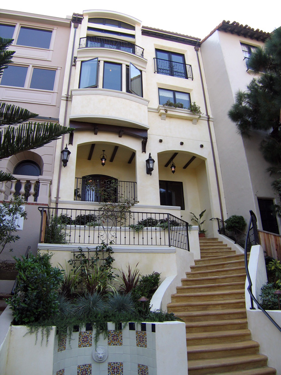 San Francisco Residence - Entry Stair and Approach