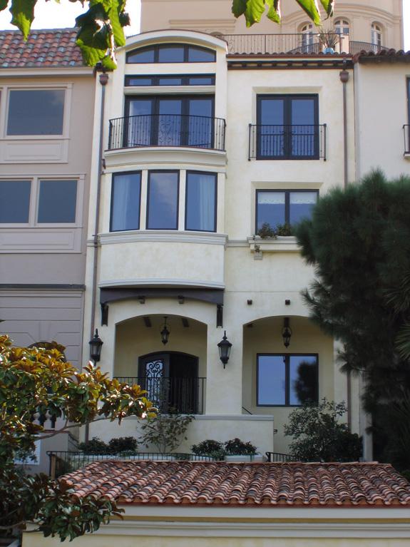San Francisco Residence - Front Façade