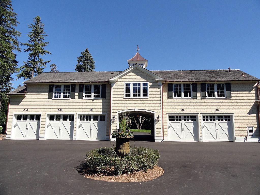 Minnesota residence cook architectural design studio for Five car garage
