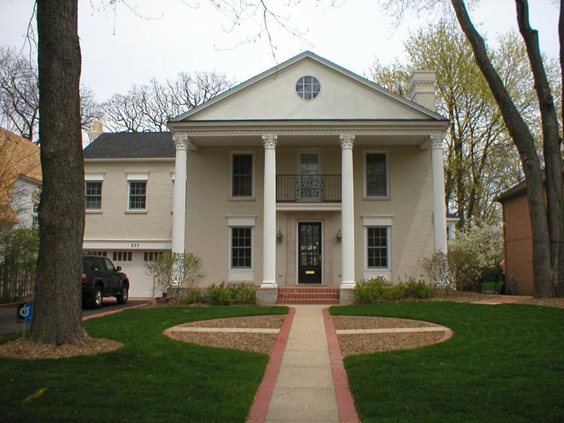 853 Grove - Front facade and axial approach