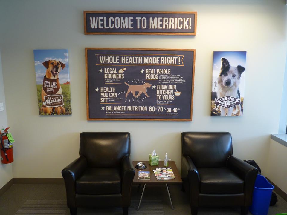 Merrick Pet Care - Reception