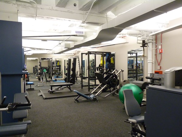 iFit - Exercise Area