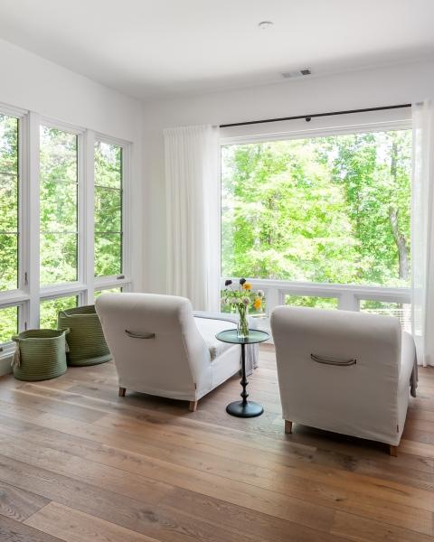 Lake Lanier, Georgia Master Bedroom Sitting Area