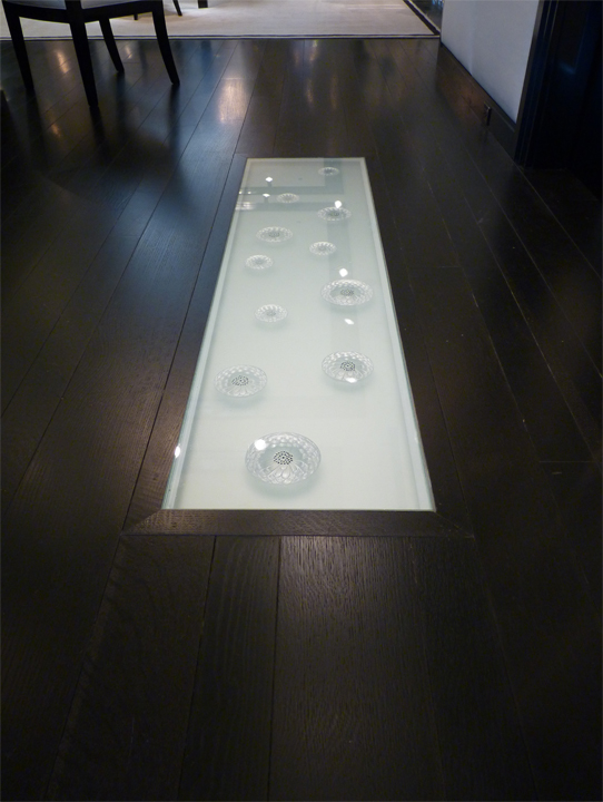 Lalique Chicago Showroom -Floor In-Lay