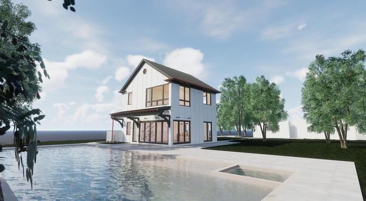 M.AuN Residence_Daytime Rendering