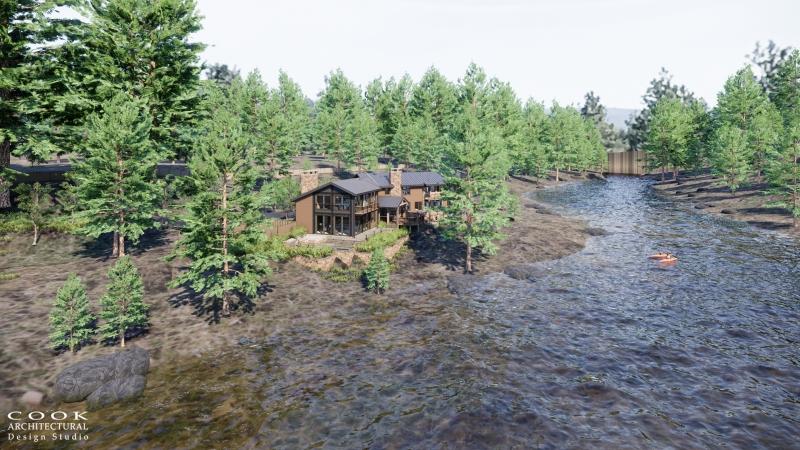 Pine Residence Main Lodge Site Rendering