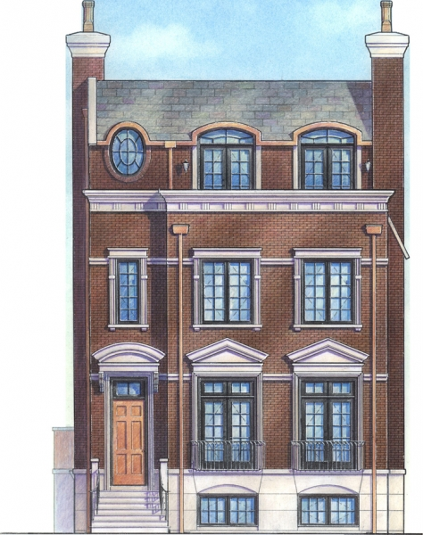 1509 Residence_Exterior Elevation