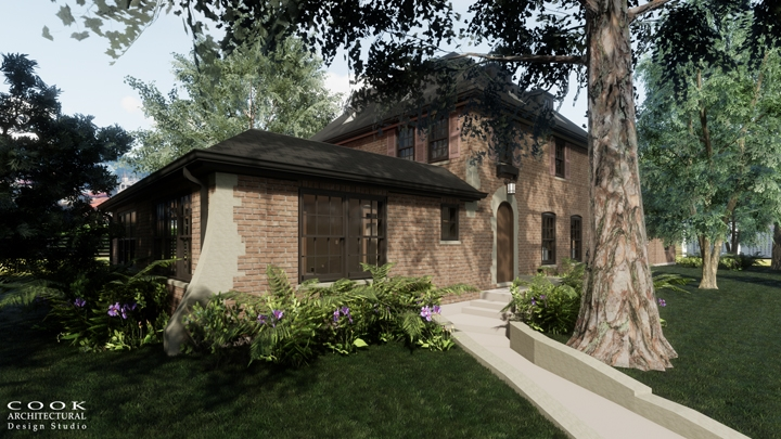 Casa Cinco_Exterior Rendering