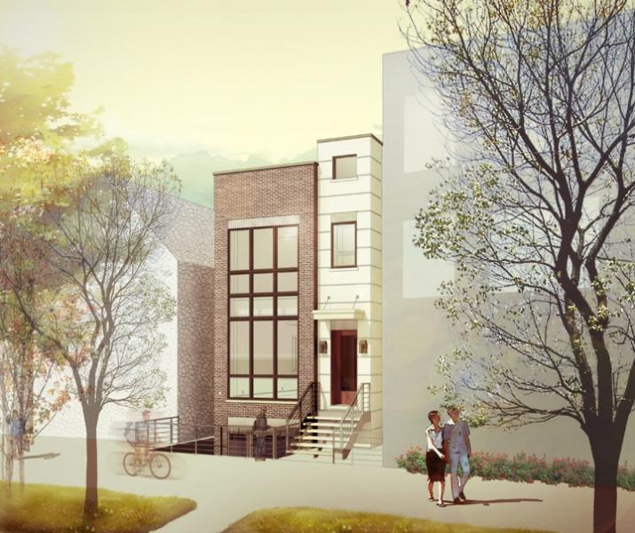 Cortland Residence_Daytime Rendering