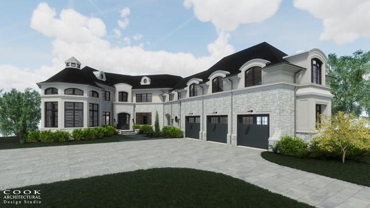 Ligan Residence_West Exterior Rendering