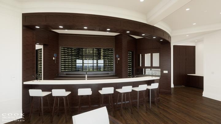 Ligan Residence_Bar Rendering