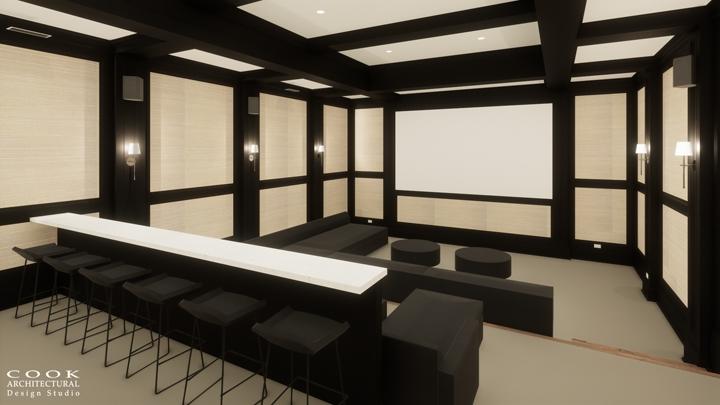 Ligan Residence_Theater Room Rendering