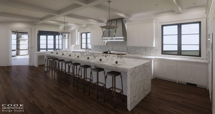 Ligan Residence_Kitchen Rendering