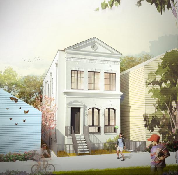 Marshfield Residence_Color Rendering