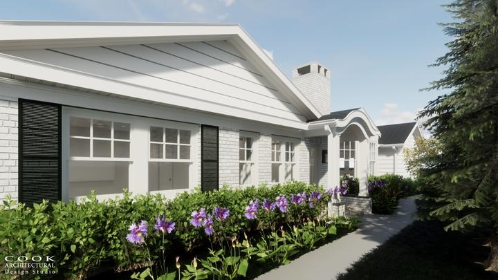 Spruce Residence_Exterior Rendering