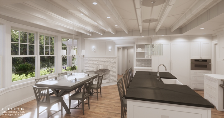 Spruce Residence_Kitchen Rendering