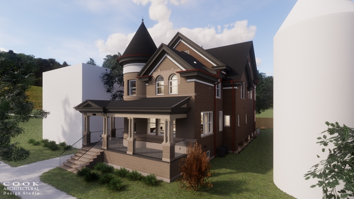 MJCO Residence_Color Exterior Rendering