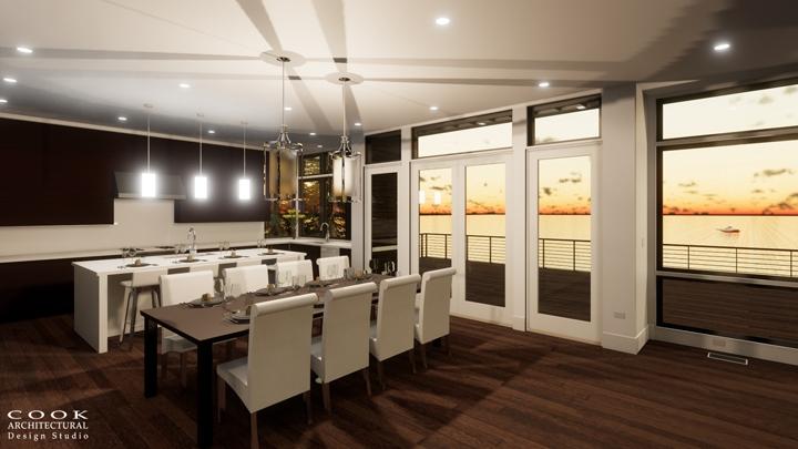 The Brando_Kitchen Rendering
