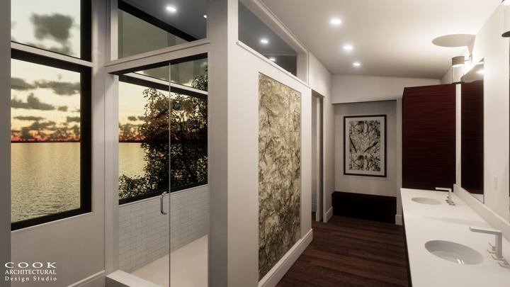 The Brando_Master Bath Rendering