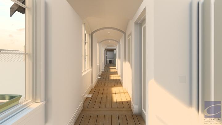 Laurel Residence_Stair Hall