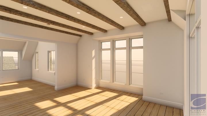 Laurel Residence_Bedroom Rendering