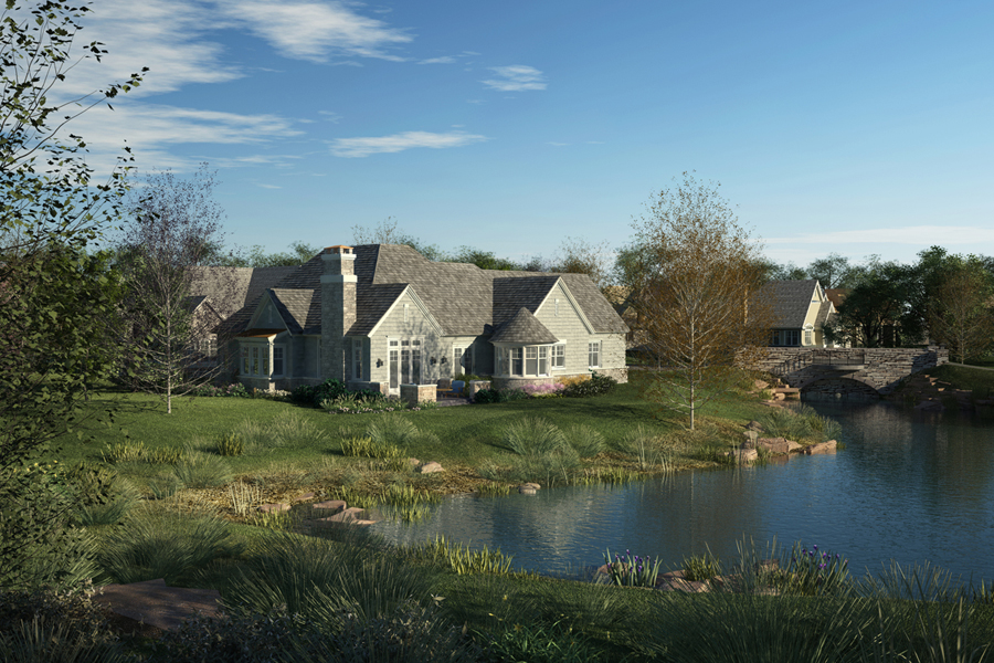 Stonebridge, Lake Bluff, IL | COOK ARCHITECTURAL DESIGN ...