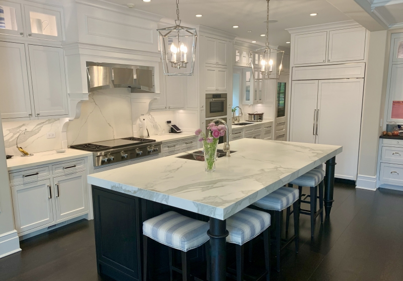 The Blue Lady Kitchen Island