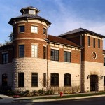 As a branch of Lake Forest Bank & Trust, this two-story masonry structure serves as a community based banking facility to the existing Highwood community and newly formed Fort Sheridan neighborhood. Exterior forms, materials and details are drawn in part from the rich historical context throughout adjacent Fort Sheridan.