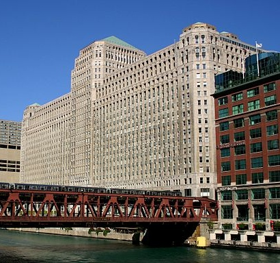 Merchandise Mart - Chicago (By J. Crocker (J. Crocker) [see page for license], via Wikimedia Commons)