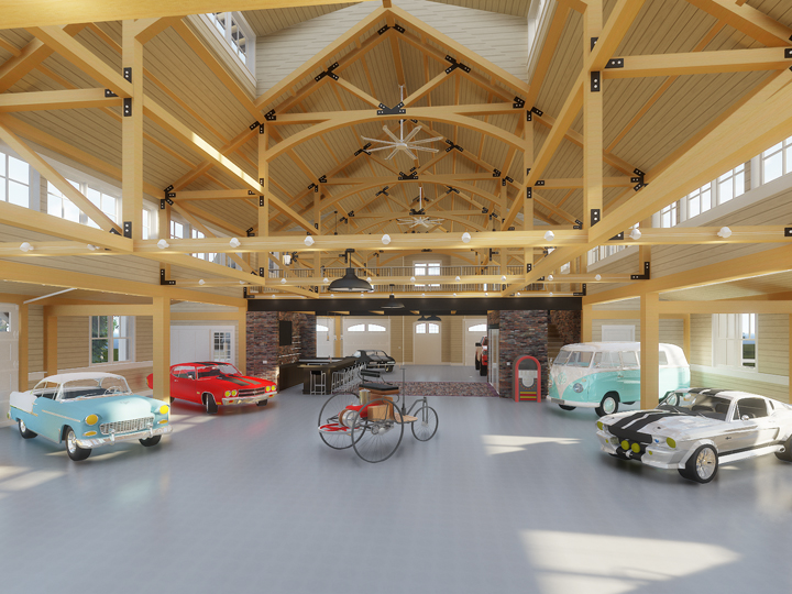 Indiana Autobarn Rendering