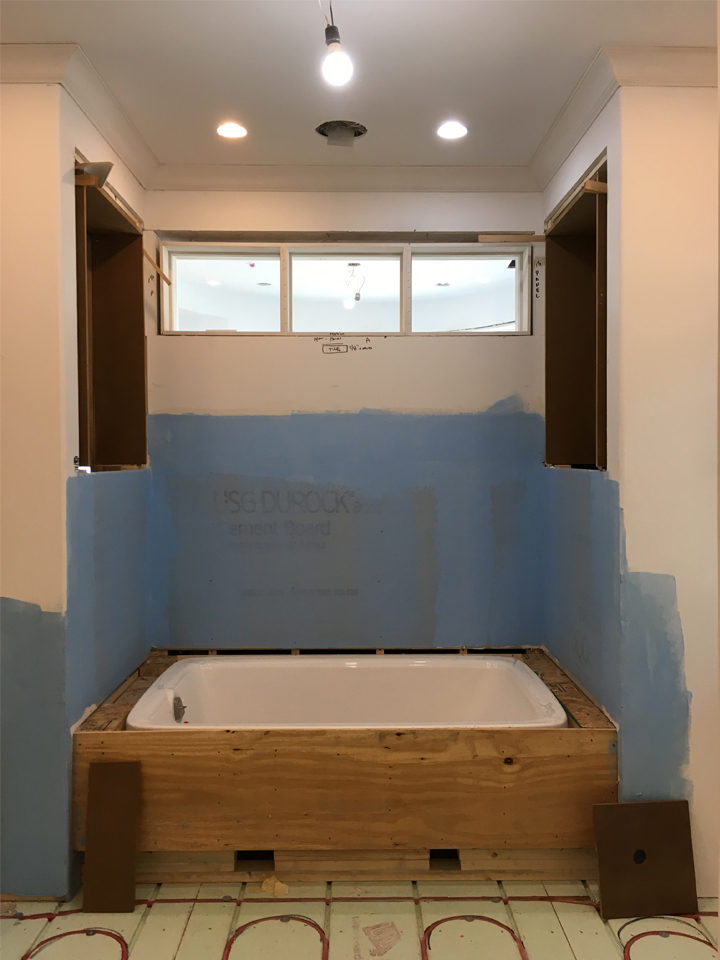 The Blue Lady Master Bath