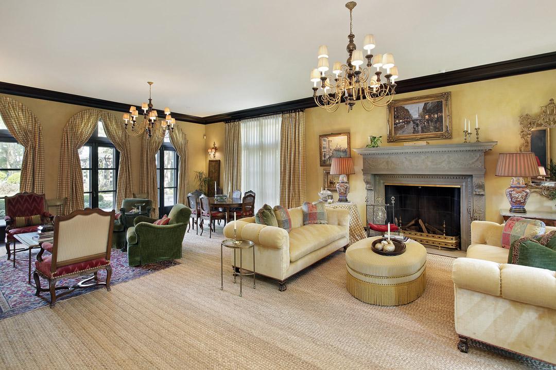 Winnetka Residence - Formal Living Room