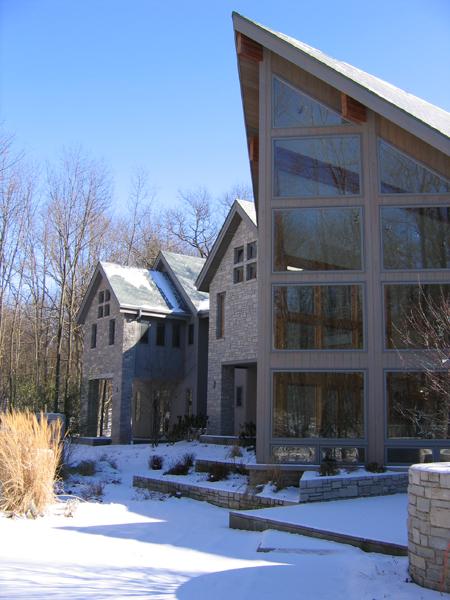 Bridgman Residence – Great room exterior