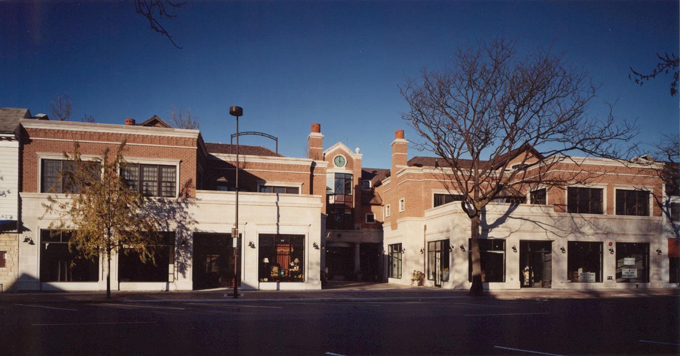 Winnetka Galleria - Elevation