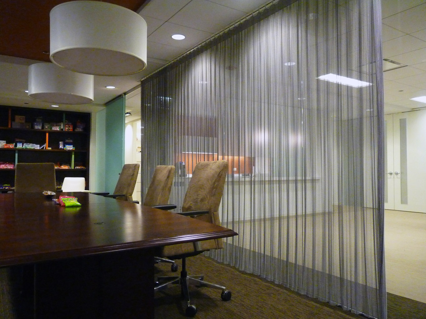 Farley's & Sathers Candy Company - Conference Room Coil Curtain